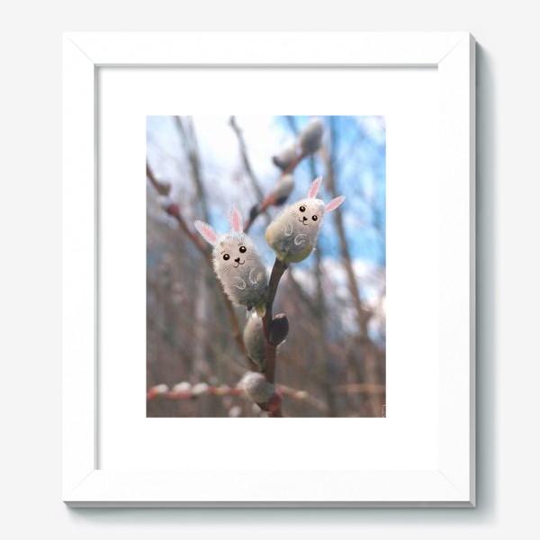 Картина «Весенние вербные зайчики»