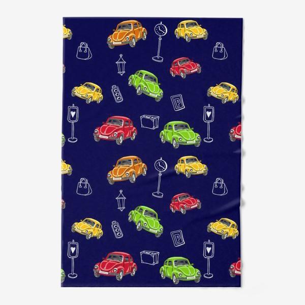 Полотенце «Цветные машинки»