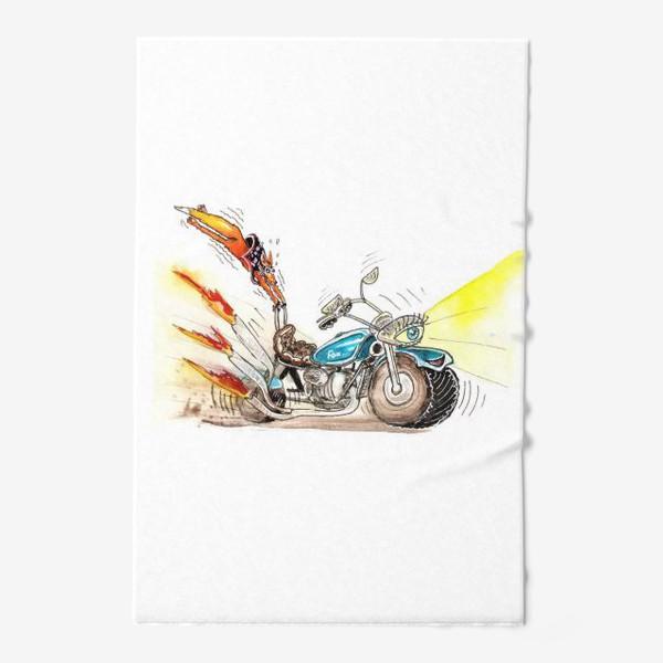 Полотенце «Мотоцикл»