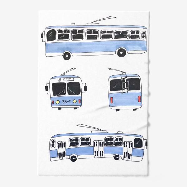 Полотенце «троллейбус»