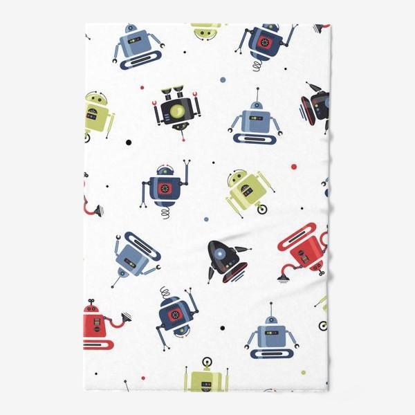 Полотенце «Robots/Роботы»