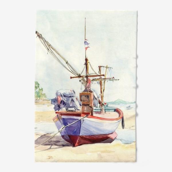 Полотенце «Рыбацкая лодка»