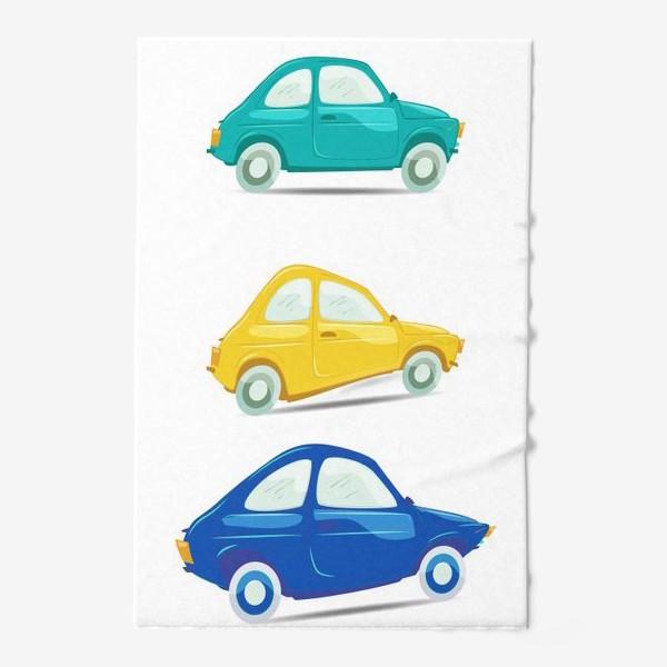Полотенце «Машинки»