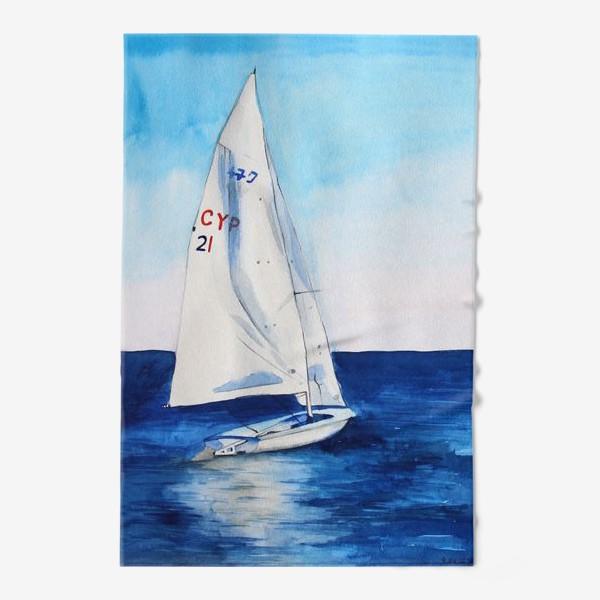 Полотенце «Белый парус»