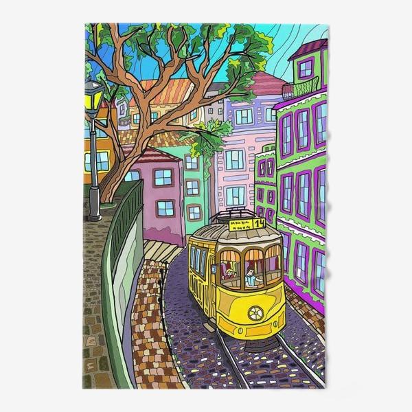 Полотенце «Желтый трамвай»