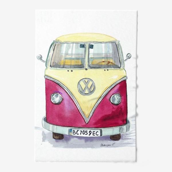 Полотенце «Автобус любимый VW»