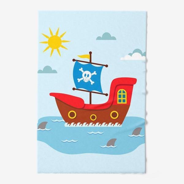 Полотенце «Пиратский корабль»