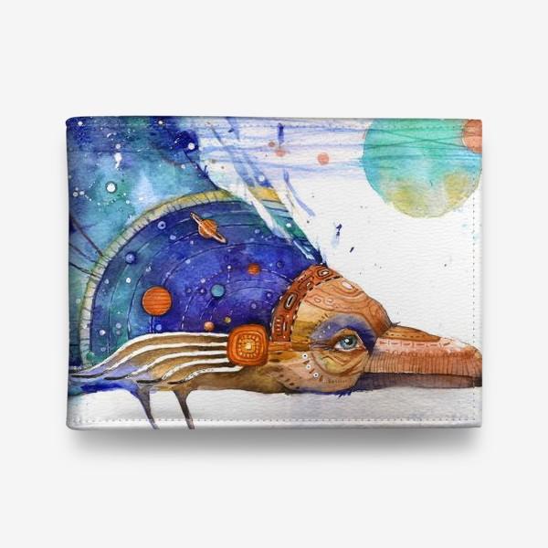 Кошелек «Космический Ворон, индейский шаман»
