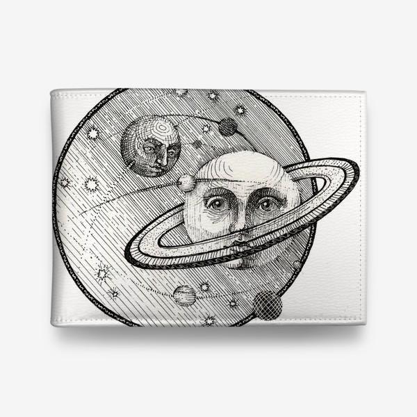 Кошелек «Сатурн и Титан, стилизация под средневековую гравюру»