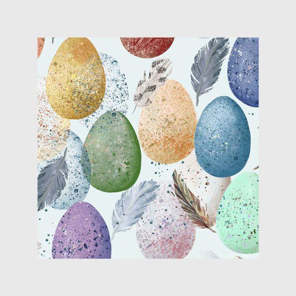 Скатерть «Яйца и перья.»