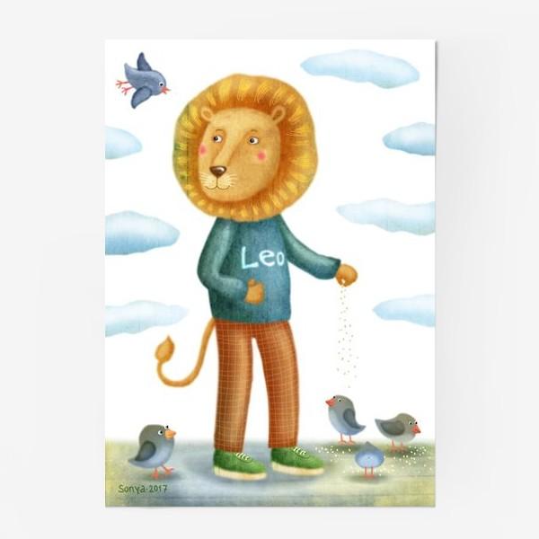 Постер «Лео»