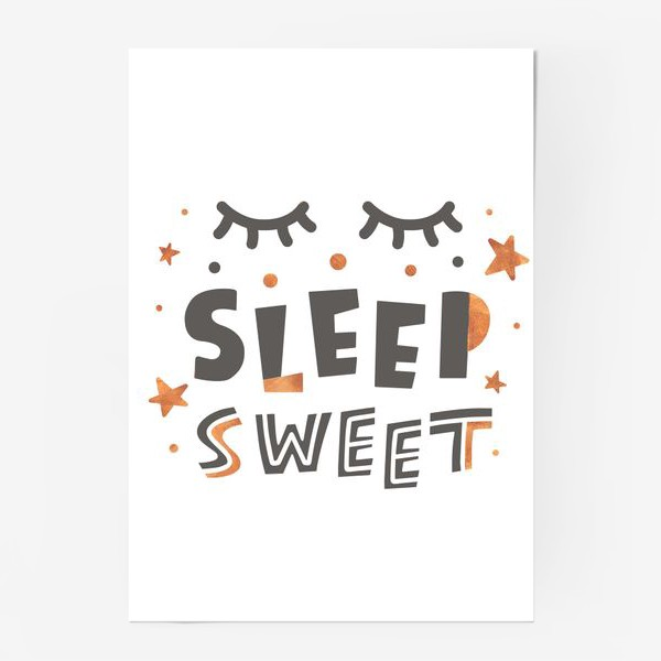Постер «Sweet sleep»