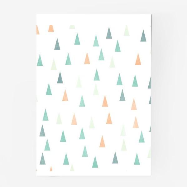 Постер «Скандинавские елочки»