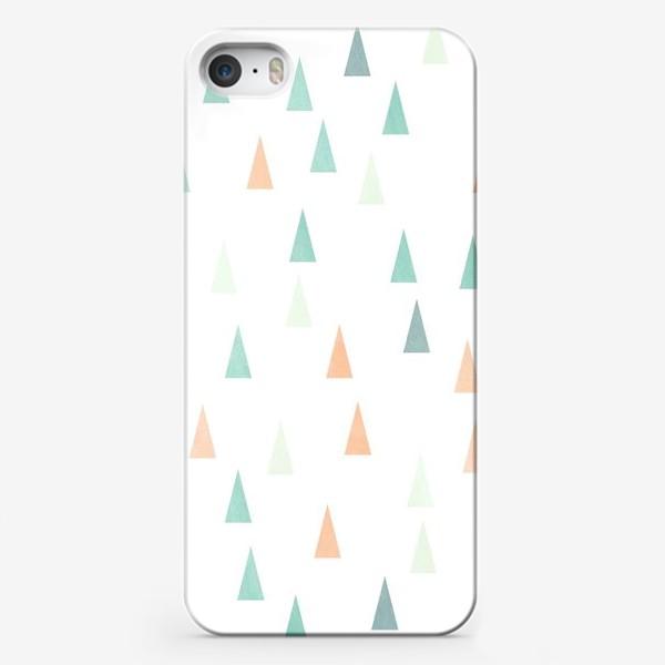 Чехол iPhone «Скандинавские елочки»
