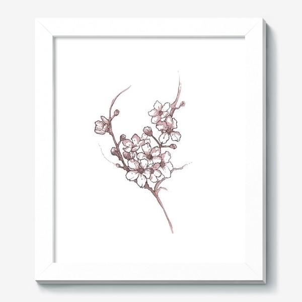 Картина «Ветка сакуры»