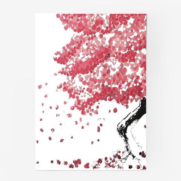 Постер «Дерево Сакура в цветении»
