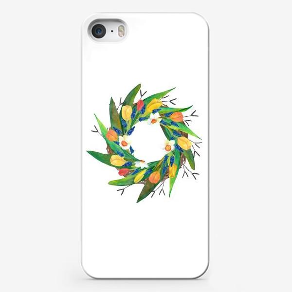 Чехол iPhone «Венок»