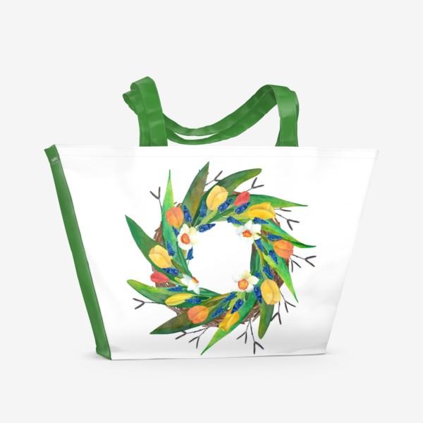 Пляжная сумка «Венок»
