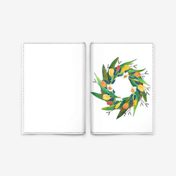 Обложка для паспорта «Венок»