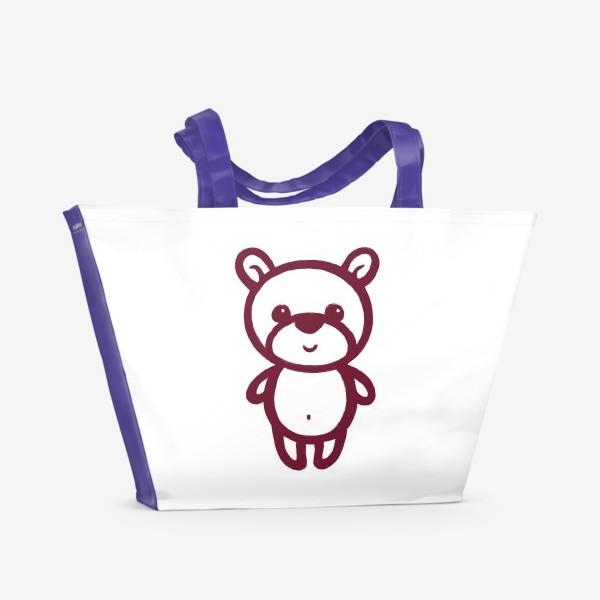 Пляжная сумка «Мишка»