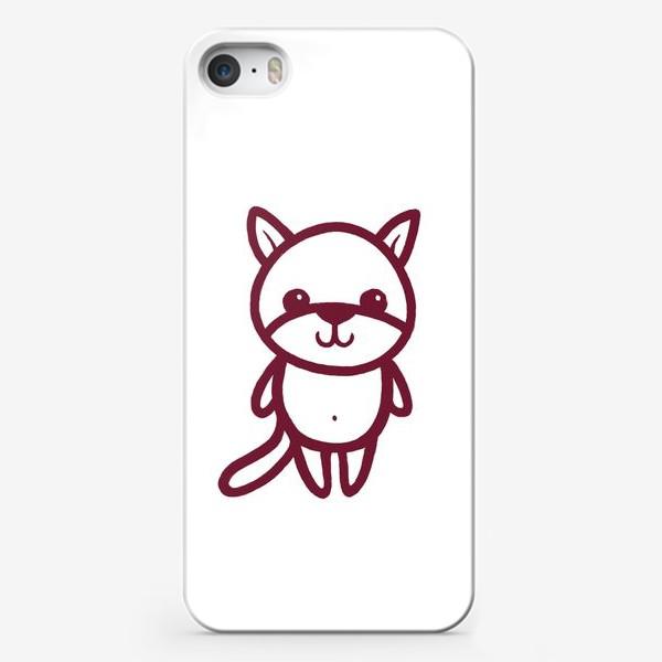 Чехол iPhone «Котенок»