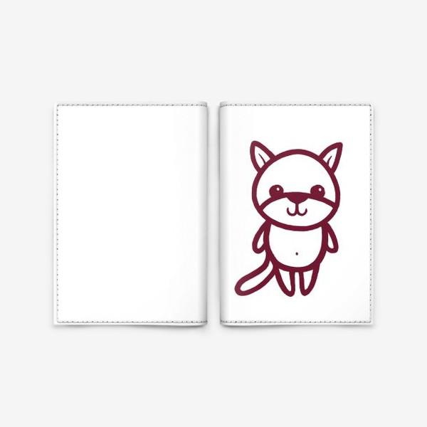 Обложка для паспорта «Котенок»