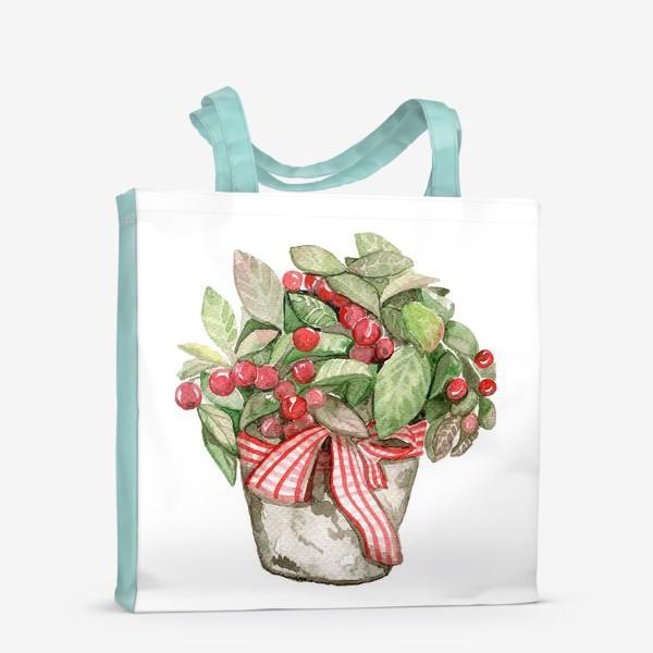 Сумка-шоппер «Цветок в горшочке»