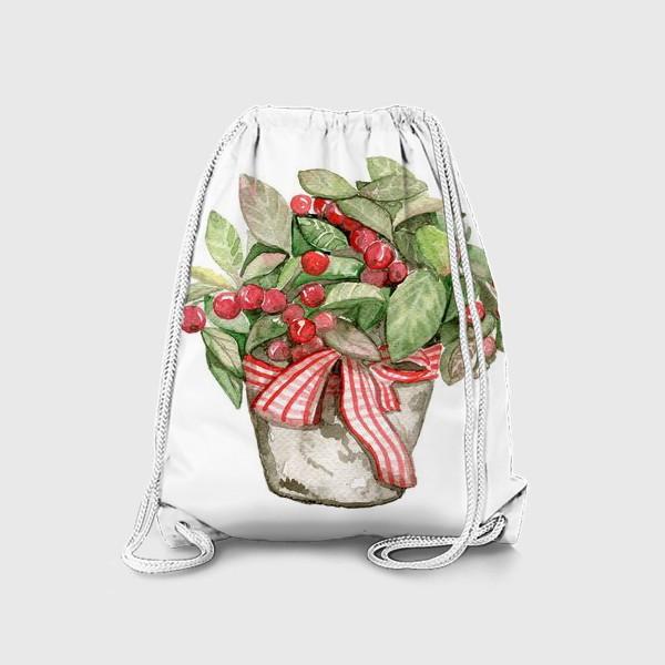 Рюкзак «Цветок в горшочке»
