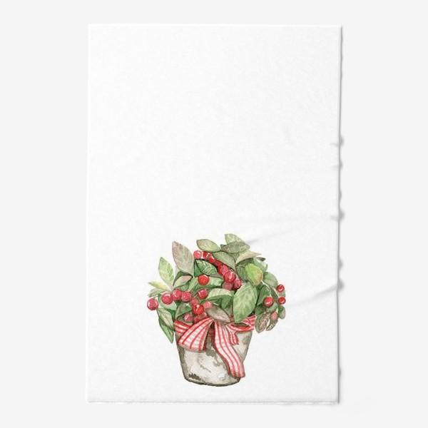Полотенце «Цветок в горшочке»