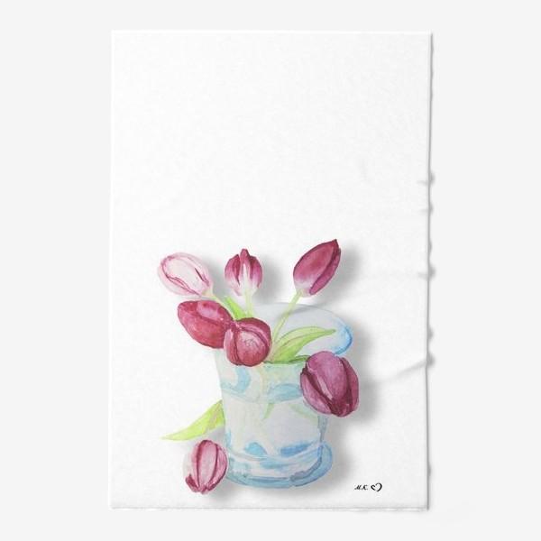 Полотенце «Тюльпаны в стакане Tulips»