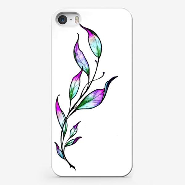 Чехол iPhone «Весенняя ветка»
