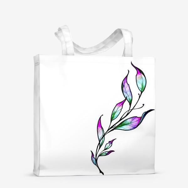 Сумка-шоппер «Весенняя ветка»