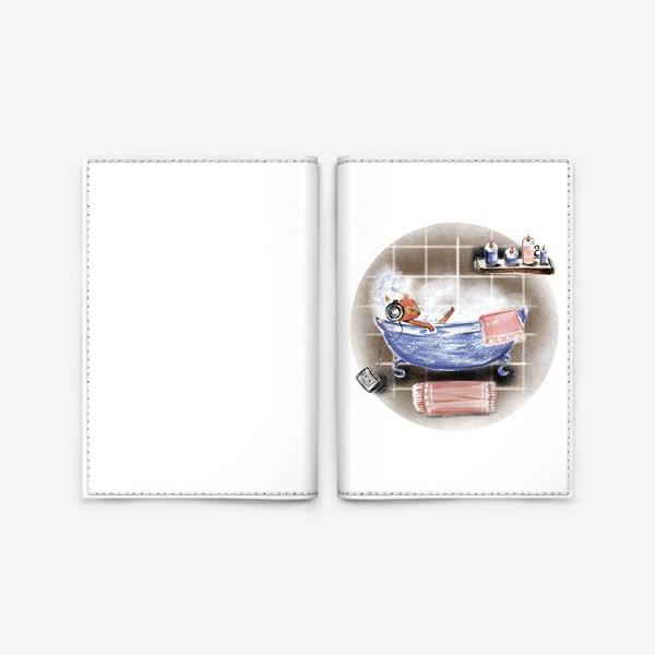 Обложка для паспорта «Relax»