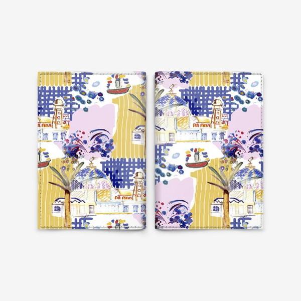 Обложка для паспорта «Жаркий полдень»