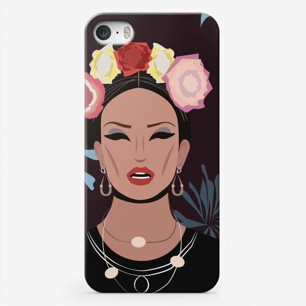 Чехол iPhone «Портрет Фриды Кало»