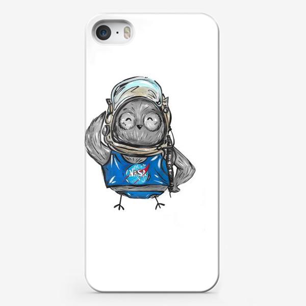 Чехол iPhone «Совушка Фильх - космонавт»