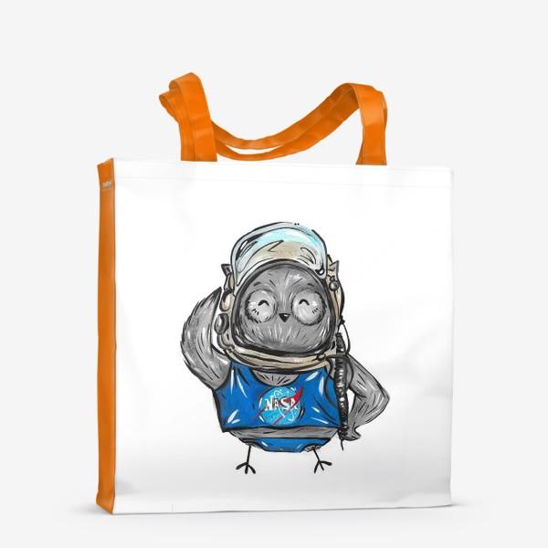 Сумка-шоппер «Совушка Фильх - космонавт»