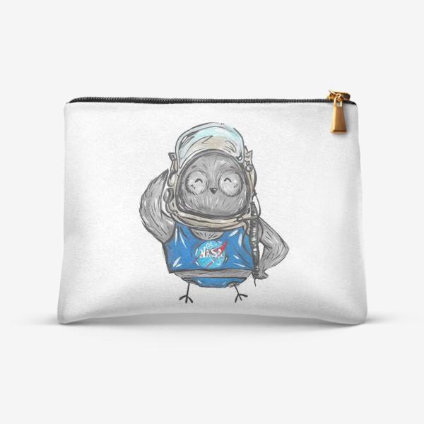 Косметичка «Совушка Фильх - космонавт»