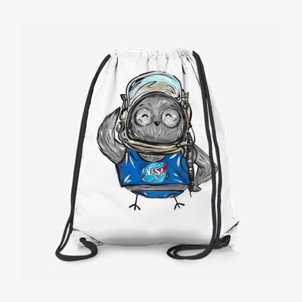 Рюкзак «Совушка Фильх - космонавт»