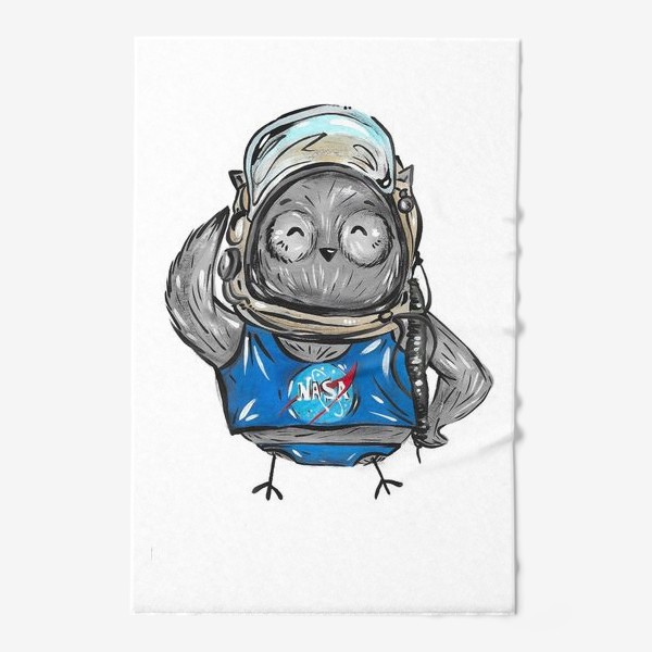 Полотенце «Совушка Фильх - космонавт»