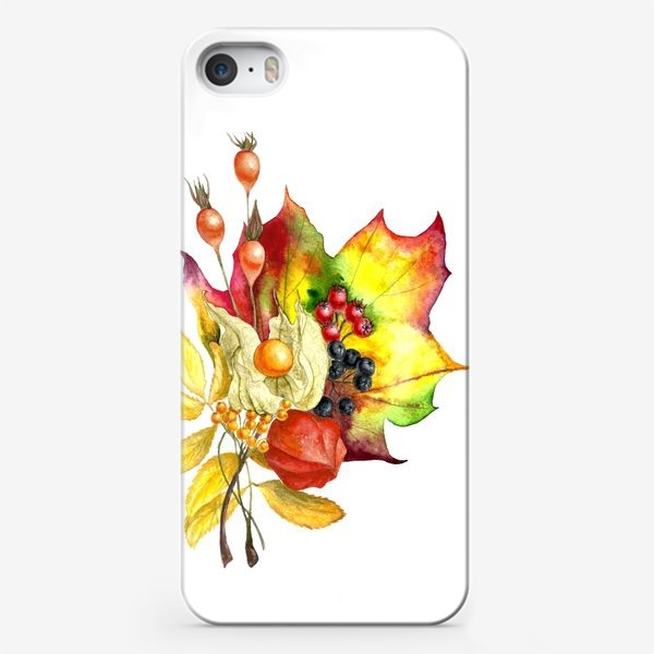 Чехол iPhone «Осенний букет»