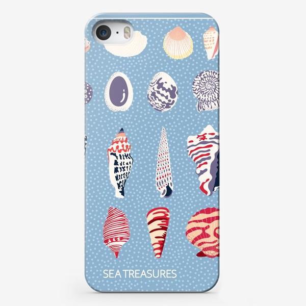 Чехол iPhone «Ракушки - морские сокровища»
