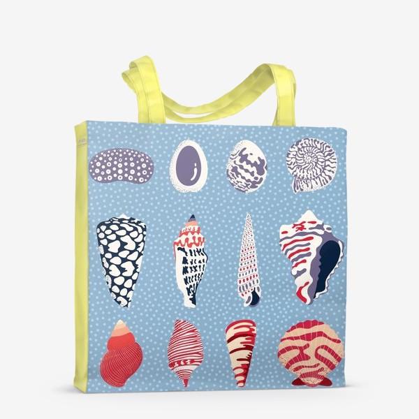 Сумка-шоппер «Ракушки - морские сокровища»