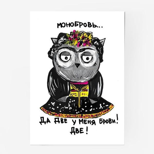 Постер «Сова Фрида»