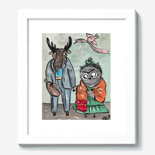 Картина «Фрида и Диего»