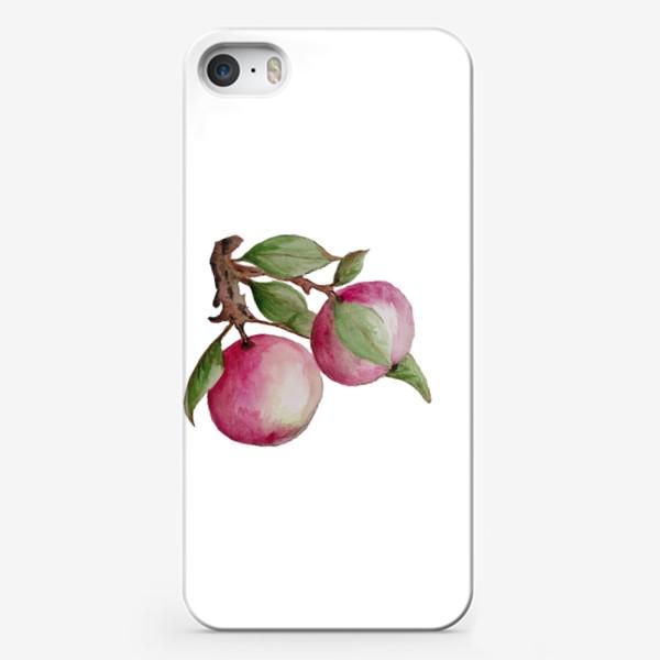 Чехол iPhone «Яблочки»