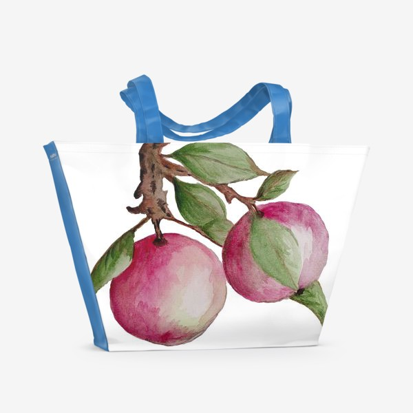Пляжная сумка «Яблочки»