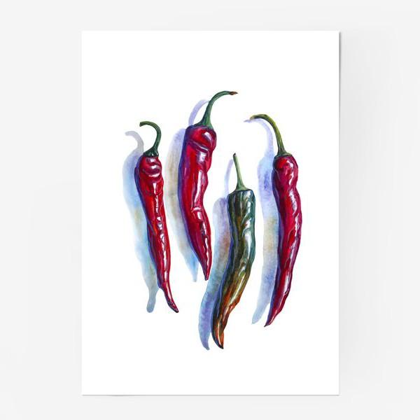 Постер «Красный перец»