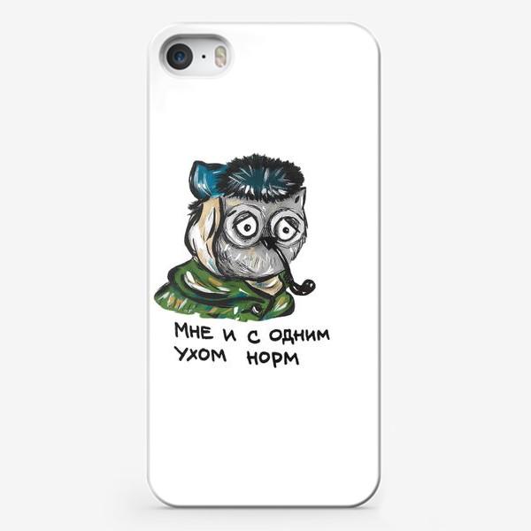 Чехол iPhone «Сова Ван Гог»