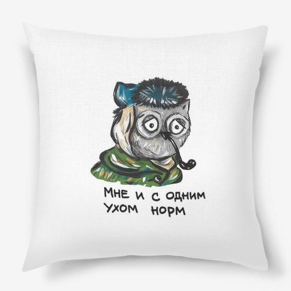 Подушка «Сова Ван Гог»